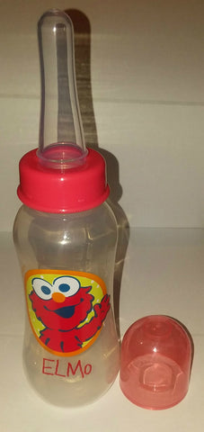 Street Red Puppet 9oz Baby Bottle with ADULT Teat BB112