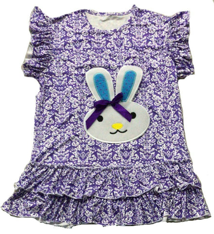 DISCONTINUED Spring Time Bunny Sleeveless Matching Shirt Clearance