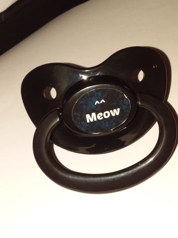 Meow Lifestyle pacifier cp1022 Blue