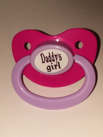 Daddy's Girl Lifestyle pacifier cp1035
