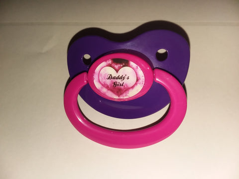 Daddy's Girl Lifestyle pacifier cp1036