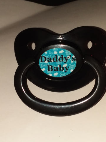 Daddy's Baby Lifestyle pacifier cp1041 Blue