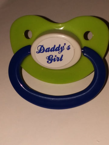 Daddy's Girl Lifestyle pacifier cp1046 Blue