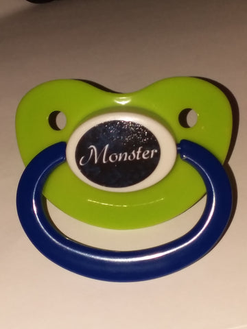 Monster Lifestyle pacifier cp1053 Blue