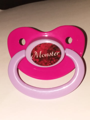 Monster Lifestyle pacifier cp1054 Red
