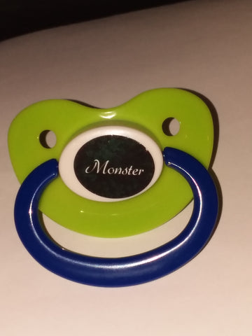 Monster Lifestyle pacifier cp1056 Green