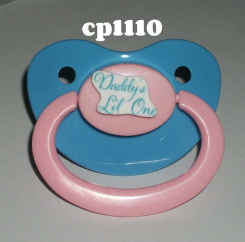 Daddy's Lil One Lifestyle pacifier CP1110