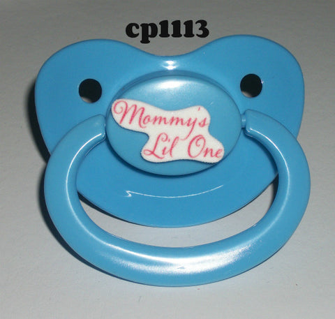 Mommy's Lil One Lifestyle pacifier CP1113