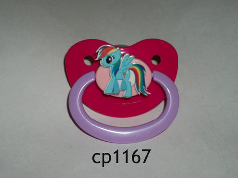 Pony pacifier Rainbow cp1167