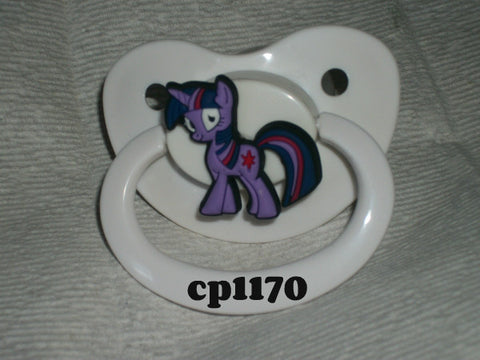 Pony pacifier Purple cp1170