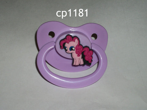 Pony pacifier Pink cp1181