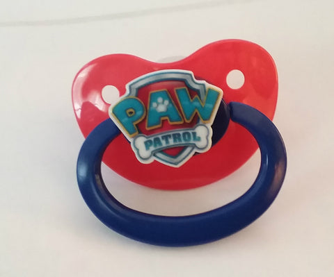 Dogs paw cartoon pacifier cp1327