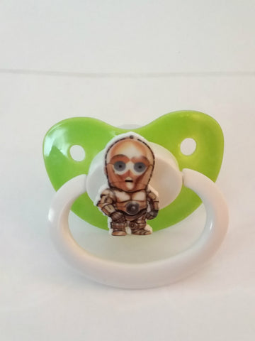 Space Movie Custom pacifier CP1333
