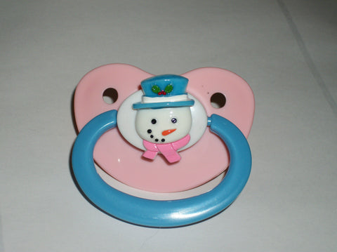 Holiday Christmas Pacifier CP1340 Snowman