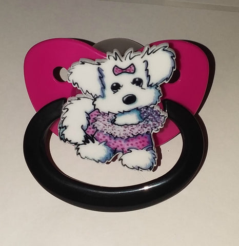 Dog cartoons custom pacifier cp1358