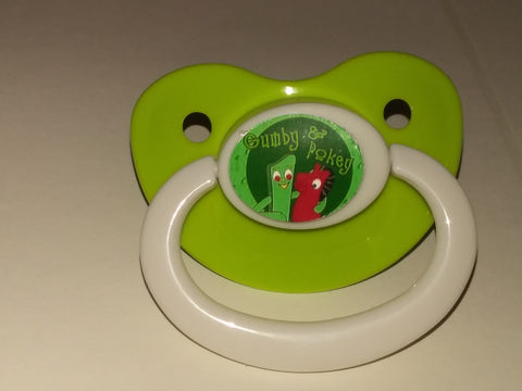 CLASSIC CARTOONS Gumbbyy Pacifier cp1552