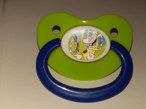 90's & 2000'S CARTOONS Chick & Cow Pacifier