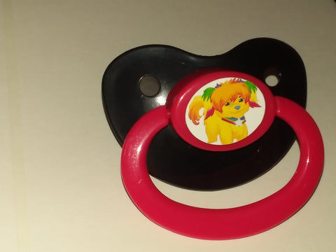 80's Cartoon Rainbow Pacifier #1