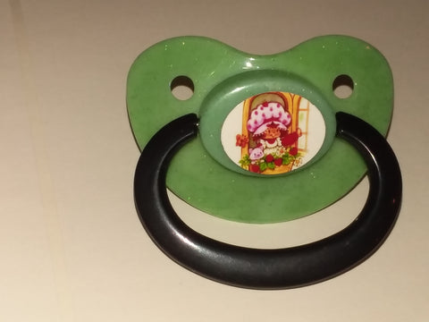80's Cartoon Strawberry Girl Pacifier #2