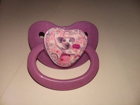 Pre-School Cartoon Mouse Pacifier cp1783