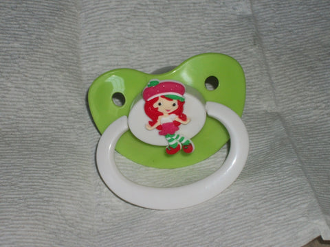 80'S CARTOON STRAWBERRY GIRL PACIFIER cp1795