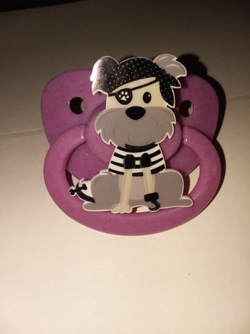 Dogs Pirate cartoon pacifier cp1811