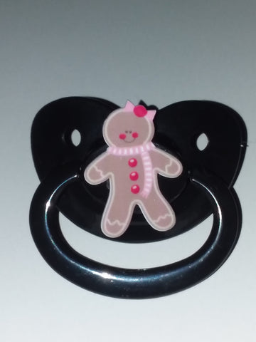 Holiday Ginger Bread Girl Pacifier CP1941