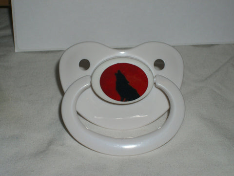 Wolf Pacifier CP195 Red