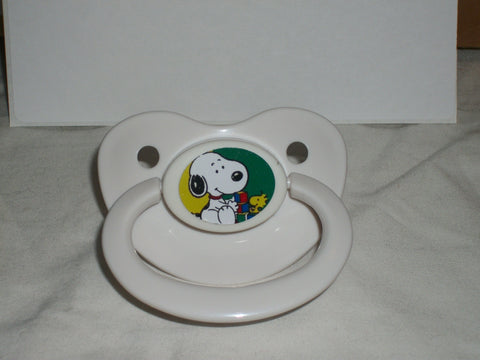 Dog White Pacifier Cartoon CP199