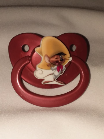 80's Cartoon L T's Fast Mouse Pacifier cp2076
