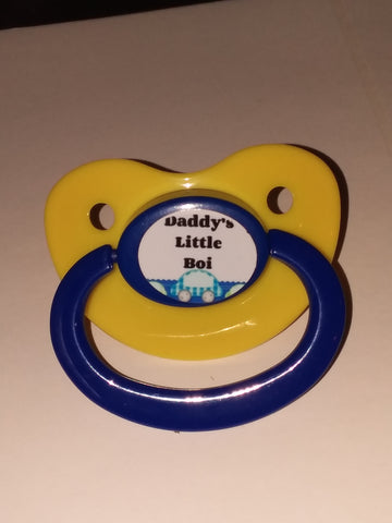 Daddy's little boi boy Lifestyle pacifier cp222