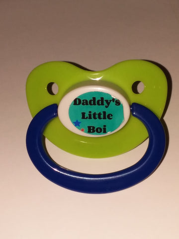 Daddy's little boi boy pacifier Lifestyle pacifier cp223