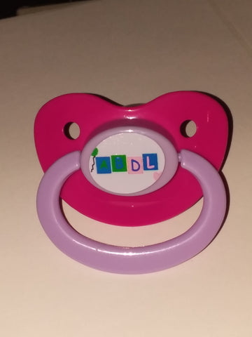 ABDL Lifestyle pacifier cp227 purple