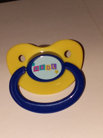 ABDL Lifestyle pacifier cp228 blue