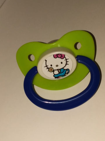 Kitty Pacifier White CP235