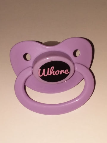 Whore Lifestyle pacifier cp238