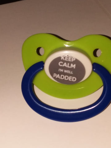 Well Padded Lifestyle pacifier cp259