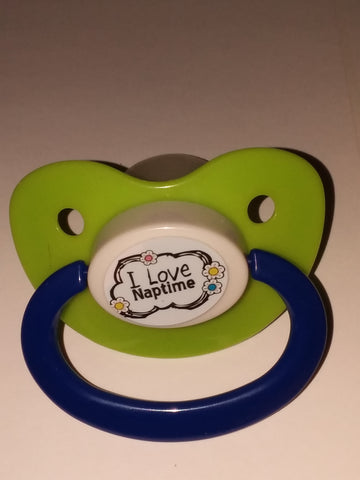 I love nap time Lifestyle pacifier cp266