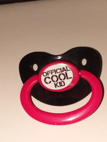 Official cool kid Lifestyle pacifier cp284