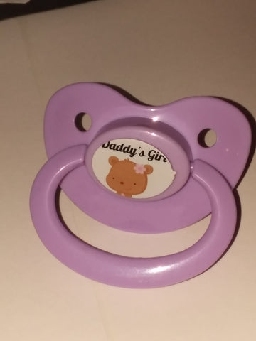 Daddy's Girl  Lifestyle pacifier cp287 Bear
