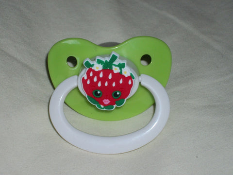 Shop Food pacifier CP344 STRAWBERRY