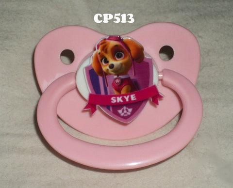 Dogs paw cartoon pacifier CP513