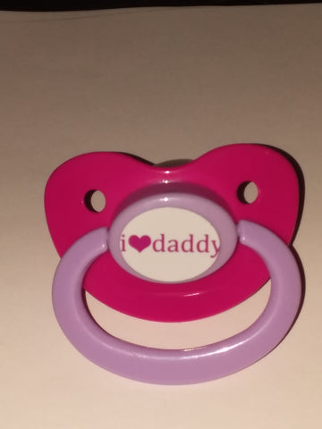 Daddy I LOVE DADDY Pacifier CP610