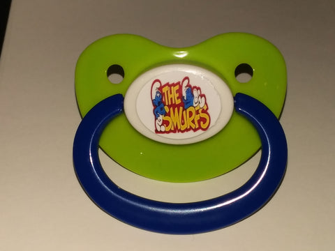 80's Cartoon Blue #2 Pacifier CP62