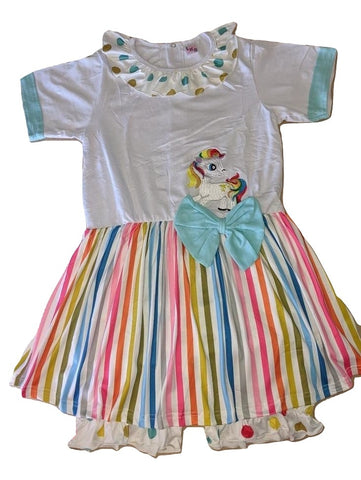 ROMPER DRESS Little Rainbow Pony Romper Dress Jumper Shorts Skirt