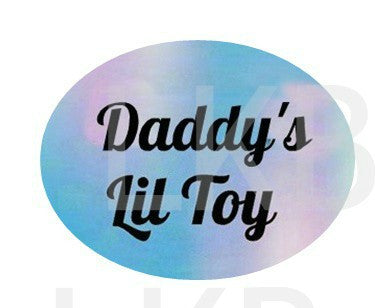 Daddy's Lil Toy Lifestyle pacifier Pacifiers