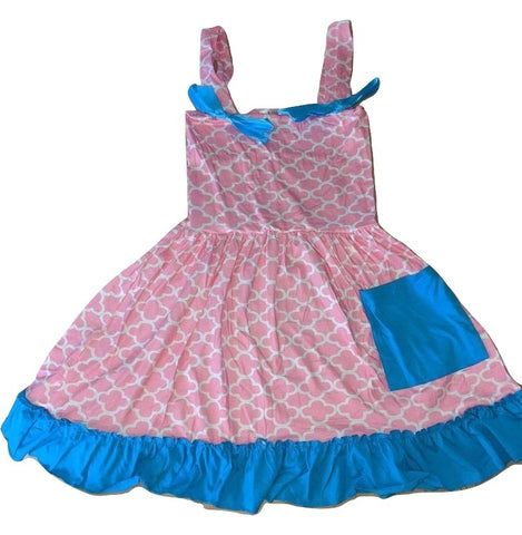 DISCONTINUED LIL MOROCCAN Ruffles Swing Top Dress Clearance