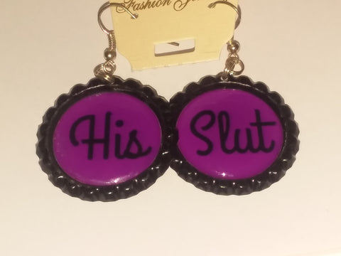 Boutique Bottle Cap Earrings Huge Variety Art His Slut E155