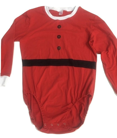DISCONTINUED Santa Baby Holiday Long Sleeve Onesie Clearance