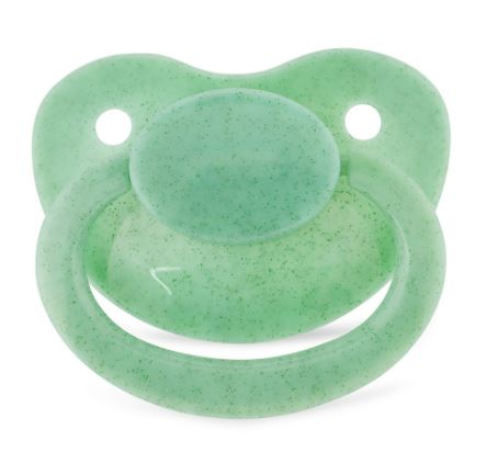 Green Sparkle New Large Sparkle Color Adult Pacifier